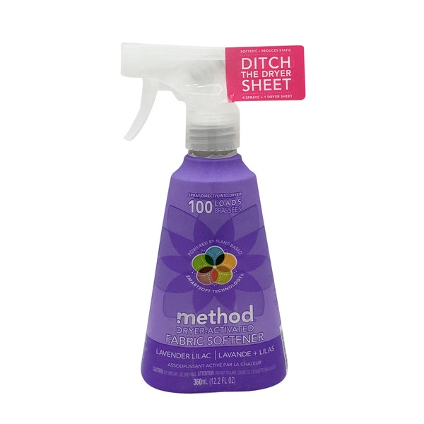 Method Lavender Lilac Dryer Activated Fabric Softener
