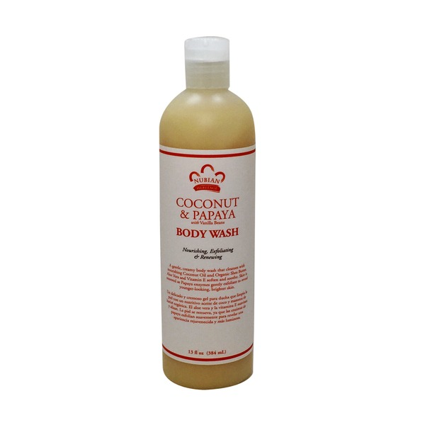 Nubian Heritage Coconut & Papaya with Vanilla Bean Extract Body Wash