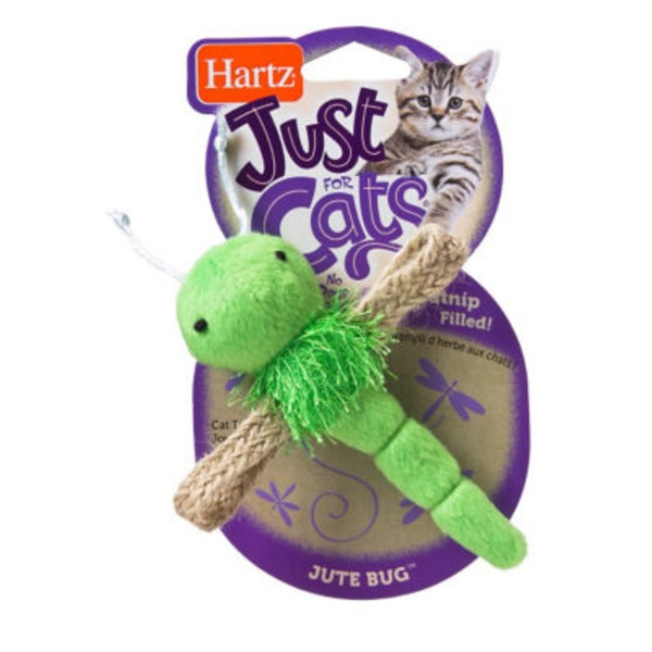 Hartz Just For Cats Catnip Jute Bug