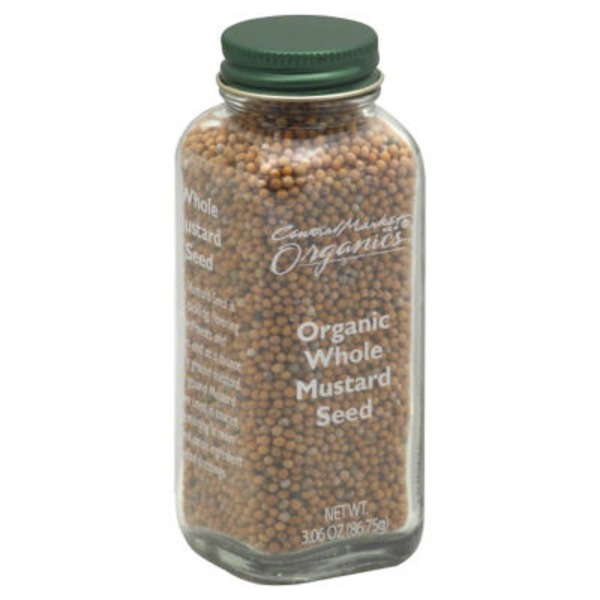 Central Market Organics Whole Mustard Seed