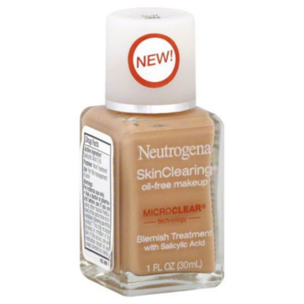 Neutrogena® Oil-Free Makeup Buff 30 Skin Clearing®