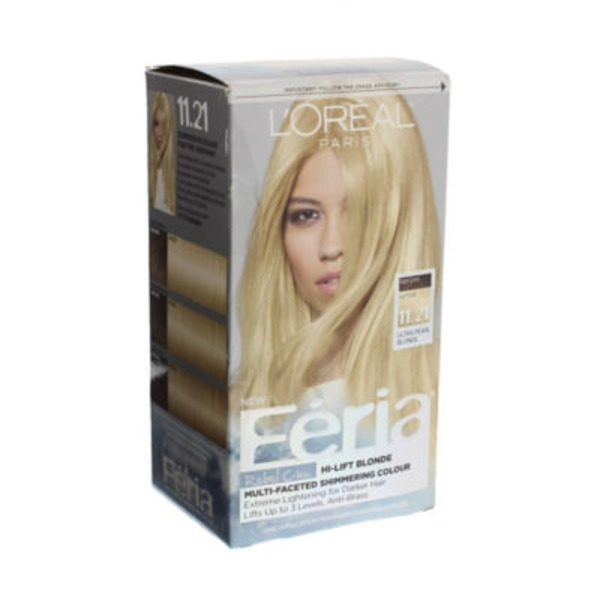 Feria Rebel Chic 11.21 Ultra Pearl Blonde Hair Color