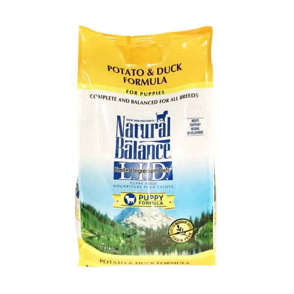 Natural Balance Potato & Duck Formula for Puppies Limited Ingredient Diet Puppy Formula