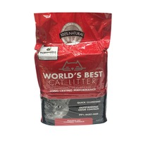 World's Best RED CAT LITTER   WB MULTI CLUMP