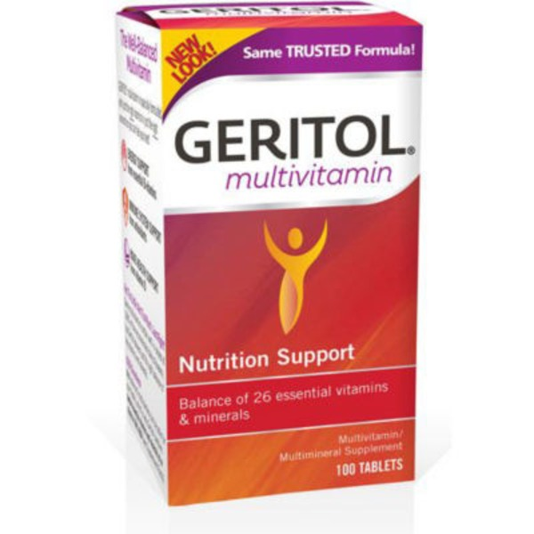 Geritol Multivitamin Nutrition Support - 100 CT