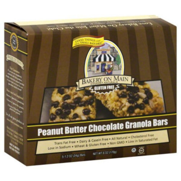 Bakery on Main Peanut Butter Chocolate Chip Granola Bar
