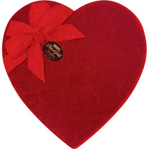 Hershey's Pot of Gold Assorted Truffles Velvet Heart Box