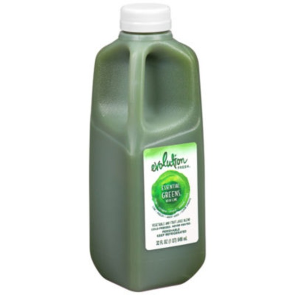 Evolution Fresh Cold-Pressed Essential Greens with Lime Juice