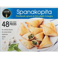 Cuisine Adventures Spanakopita Spinach & Feta Phyllo Triangles