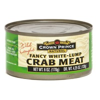 Crown Prince Fancy Lump White Crab Meat