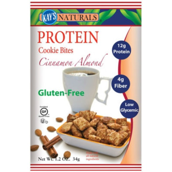 Kays Naturals Almond Filled Protein + Cinnamon Flavored Cookie Bites
