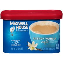 Maxwell House Coffee Mix, French Vanilla, 8.4 Oz, 1 Count