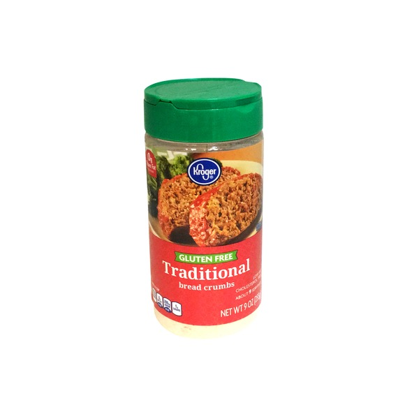 Kroger Gluten Free Traditional Bread Crumbs