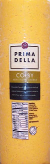 Prima Della Mini Colby Cheese Deli Sliced