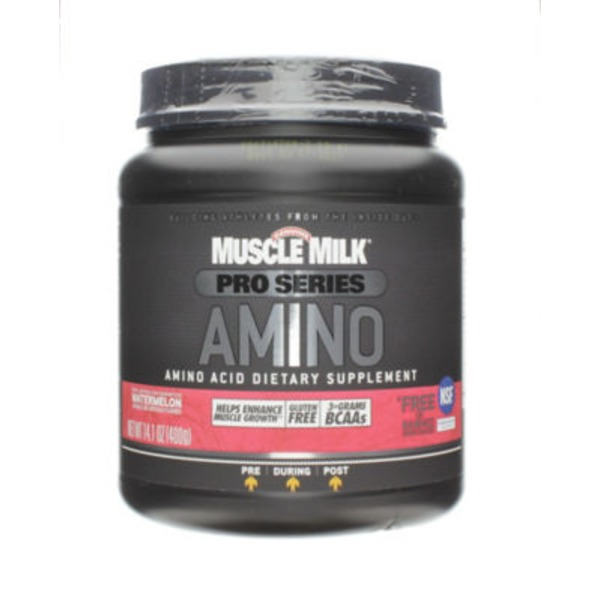 Muscle Milk Amino Pro Series Dietary Supplement