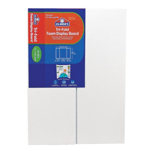 Elmer's Tri Fold Foam Display Board