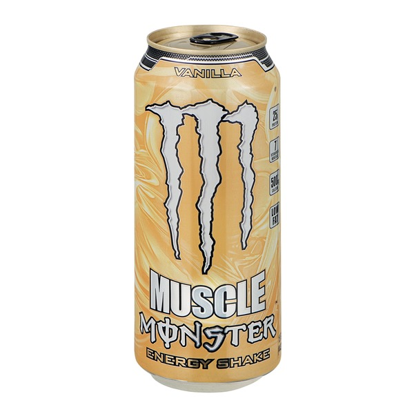Monster Muscle Energy Shake Vanilla