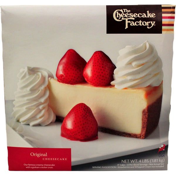 Costco The Cheesecake Factory Original Cheesecake 9 Delivery Online
