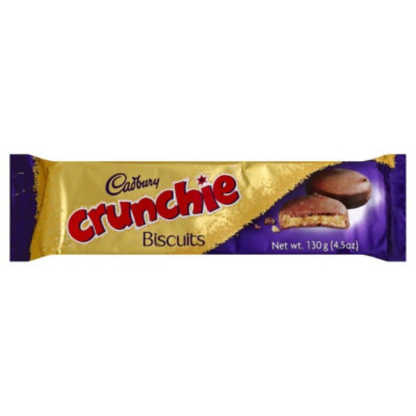 Cadbury Crunchie Cookie Biscuits