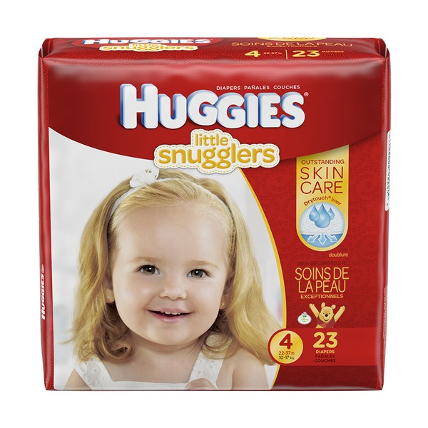 Huggies Supreme Little Snugglers Size 4 Diapers