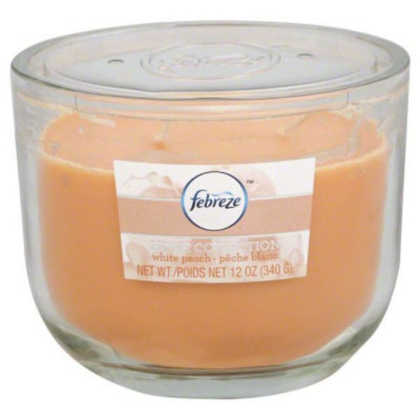 Febreze White Peach Candle
