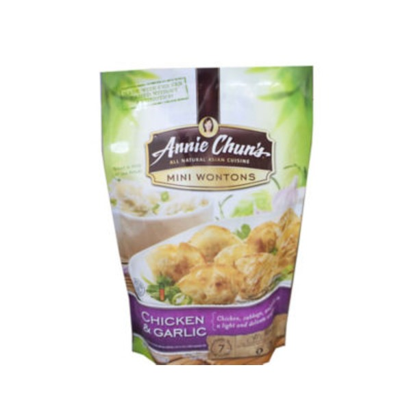 Annie Chuns Garlic Chicken Mini Wontons