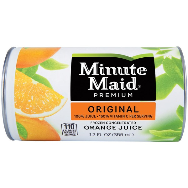 Minute Maid Orange Original Frozen Concentrate 100% Juice