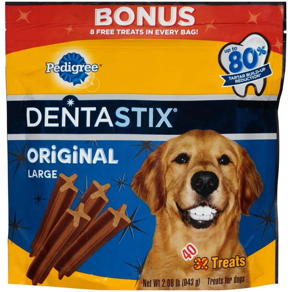 Pedigree Dentastix Original Large Treats for Dogs