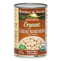 Westbrae Natural Vegetarian Organic Great Northern Beans Low Sodium
