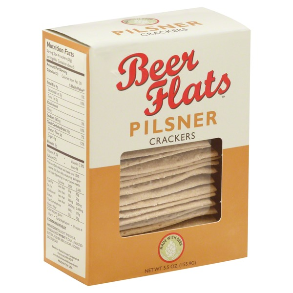 Beer Flats Crackers, Pilsner