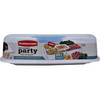 Rubbermaid Ultimate Party Serve & Store Set