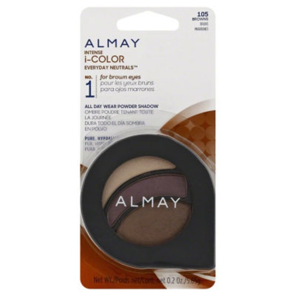 Almay Intense i-color Eyeshadow, Everyday Neutrals for Brown Eyes 105