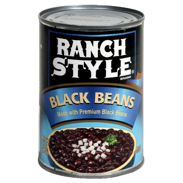 Ranch Style Brand Black Beans