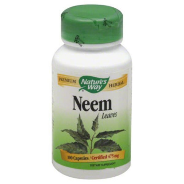 Nature's Way Neem Leaves, 475 mg, Capsules