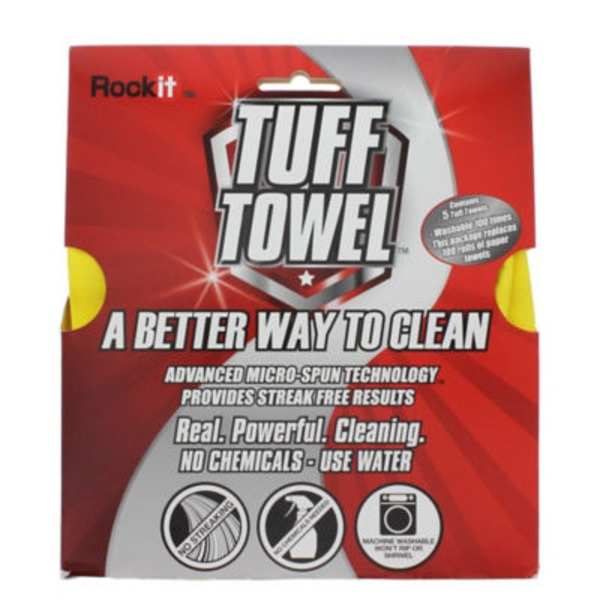 Rock It Tuff Towel All Purpose Cleaning Cloth