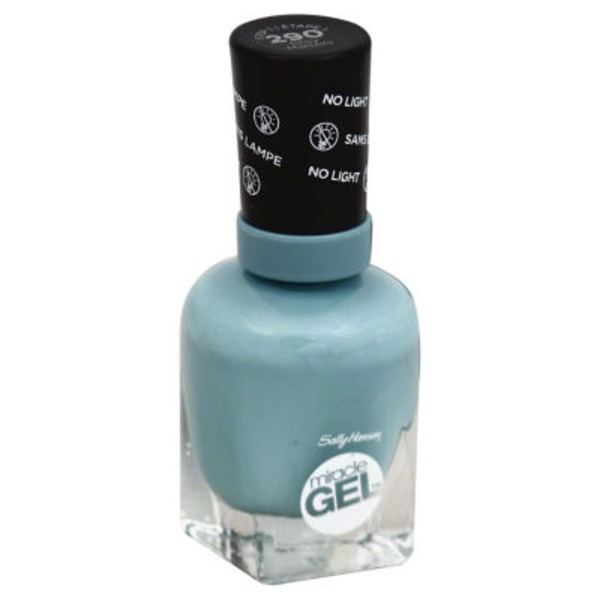 Sally Hansen Grey Matters Miracle Gel Nail Polish