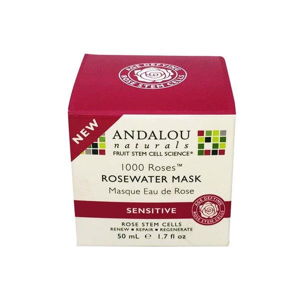 Andalou Naturals Rosewater Mask for Sensitive Skin