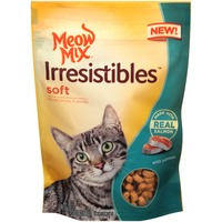 Meow Mix Irresistibles Treat Soft With Real Meat Grilled Salmon