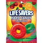 Life Savers 5 Flavors Hard Candy Bag, 6.25 ounce