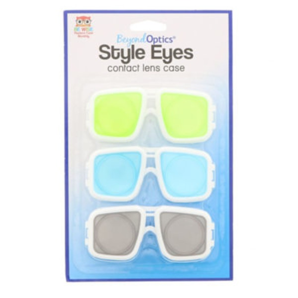 Beyond Optics Style Eyes Contact Lens Case