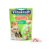 Vitakraft Strawberry Drops For Hamsters