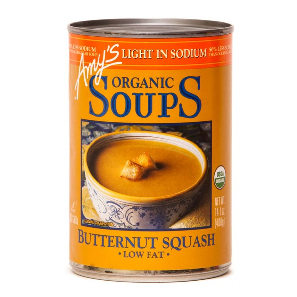 Amy's Organic Soup Butternut Squash Low Fat