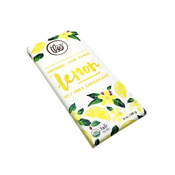 Theo Chocolate Organic Milk Chocolate Lemon Bar