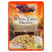Uncle Bens Ready Rice Brown & Wild Whole Grain Medley
