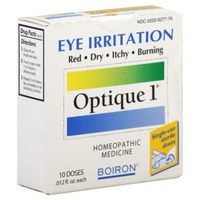 Boiron Optique 1 Eye Irritation Relief Homeopathic Medicine - 10 CT