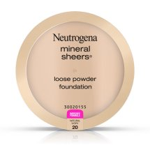 Neutrogena Mineral Sheers Loose Powder Foundation 20, Natural Ivory 20, .19 Oz