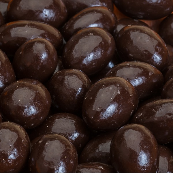 Marich Dark Chocolate Covered Almonds, Bulk