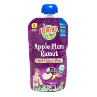 Earth's Best Organic Apple Plum Kamut Stage 2 Baby Food