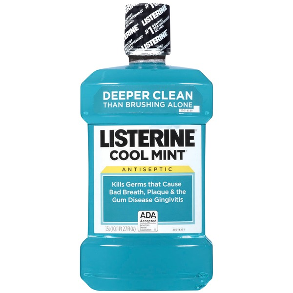 Listerine® Cool Mint® Antiseptic Adult Mouthwash