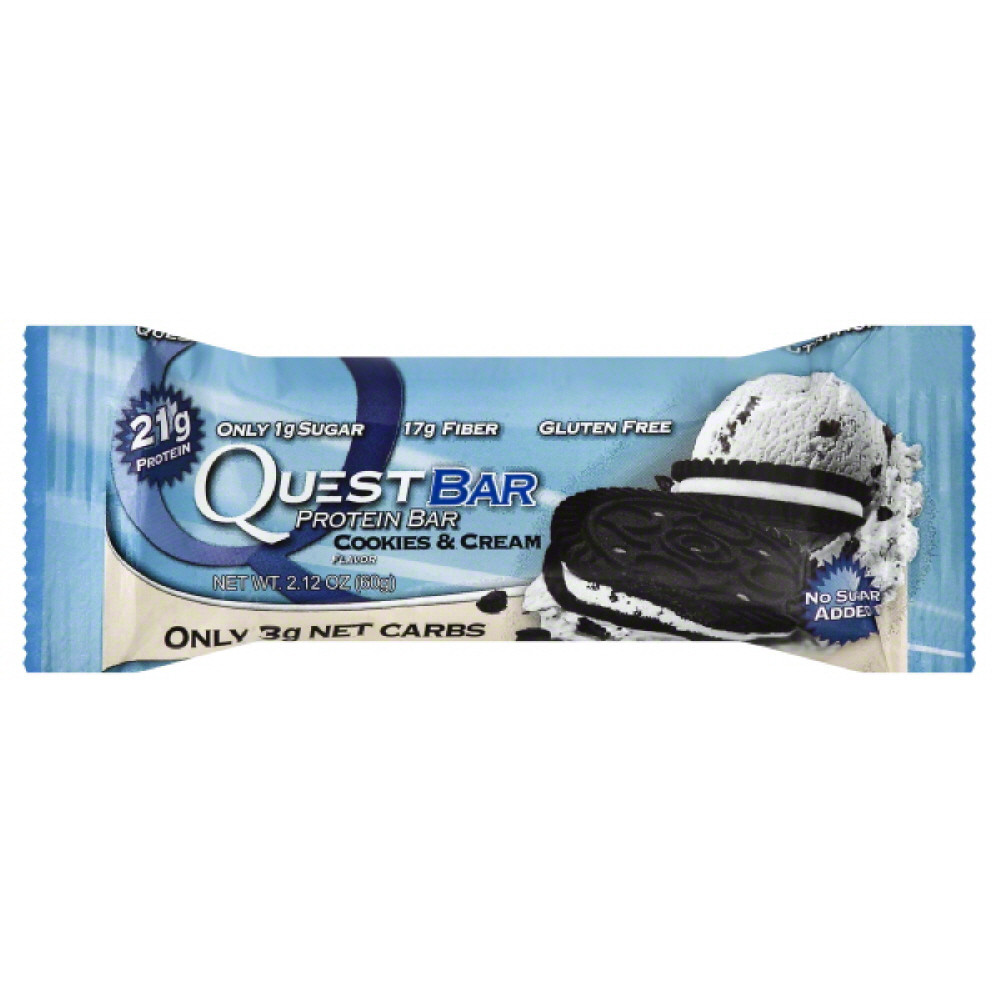 Quest Nutrition Protein Bar Cookies/Cream